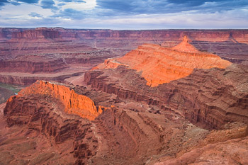 Nature Landscape Photograph: Dawn at Canyonlands by Nat Coalson
