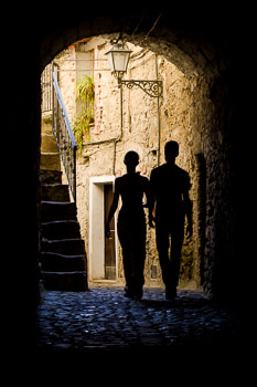 Travel Photograph: Apricale Stroll by Nat Coalson