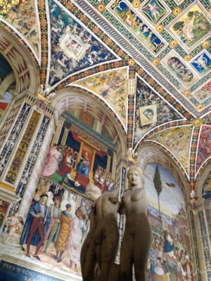 Travel Photograph: Siena Duomo Details by Nat Coalson