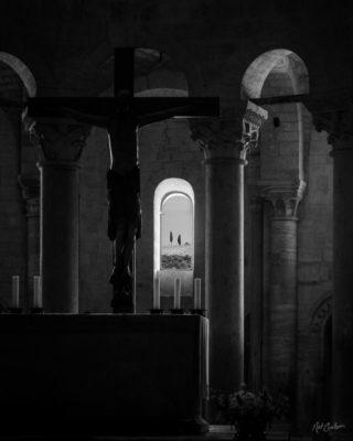 Fine Art Photograph: Abbazia di Sant'Antimo (Interior) by Nat Coalson