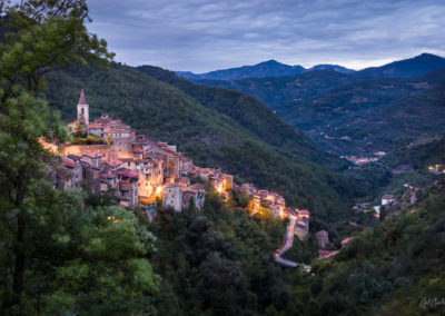 Apricale Before Dawn