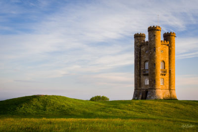 Broadway Tower at Sunrise