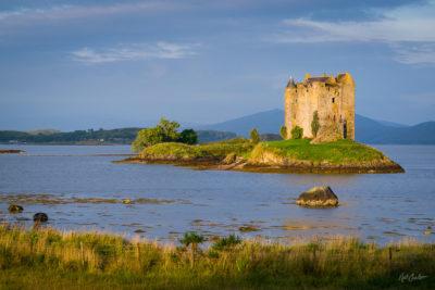 Fine Art Travel Photograph: Castle Stalker by Nat Coalson