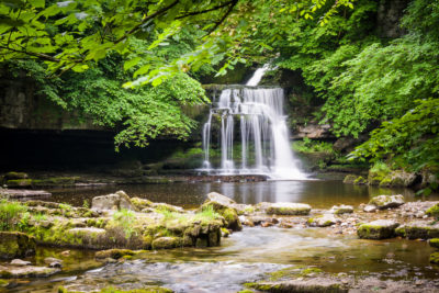 Waterfalls in Yorkshire Dales: Cauldron Falls by Nat Coalson