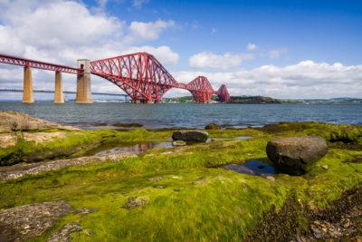 Travel Photograph: Forth Bridge, Scotland by Nat Coalson