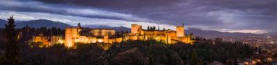 Fine Art Travel Photograph: Alhambra by Nat Coalson