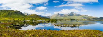 Fine Art Landscape Photograph: Lochan na h-Achlaise by Nat Coalson