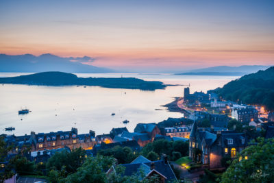 Travel Photograph: Oban Harbour by Nat Coalson