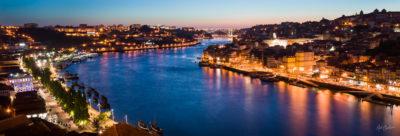 Travel Scenic Photograph: Porto e Douro by Nat Coalson