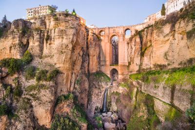 Scenic Travel Photograph: Ronda y Puente Nuevo by Nat Coalson