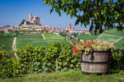 Serralunga d'Alba from Rivetto Winery