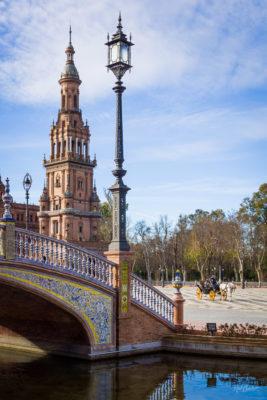 Travel photograph: Plaza de España and Carriage by Nat Coalson