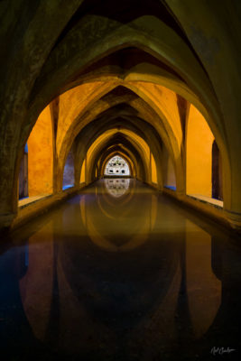 Fine Art Travel Photograph: Baths of Lady Maria de Padilla by Nat Coalson