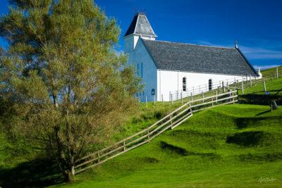 Travel Photograph: Uig Church by Nat Coalson